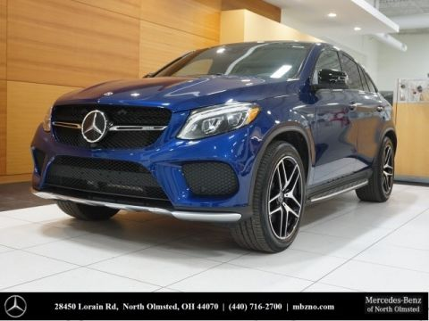 Certified Pre-Owned 2017 Mercedes-Benz GLE GLE 43 AMG® Coupe