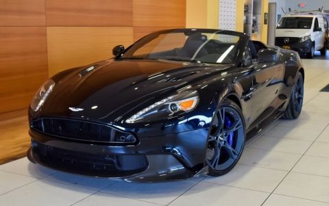 New Aston Martin Vanquish S D Coupe In North Olmsted AJJ - 2018 aston martin vanquish coupe