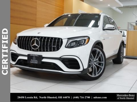 Certified Pre-Owned 2018 Mercedes-Benz GLC GLC 63 AMG®
