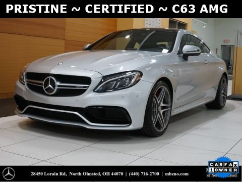 Certified Pre-Owned 2017 Mercedes-Benz C-Class C 63 S AMG®