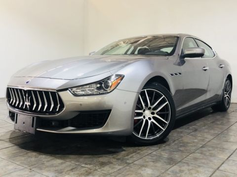 New 2019 Maserati Ghibli S Q4 Executive Demo