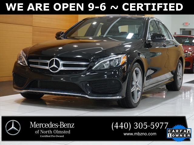 Certified Pre-Owned 2017 Mercedes-Benz C-Class C 300 AMG® SPORT