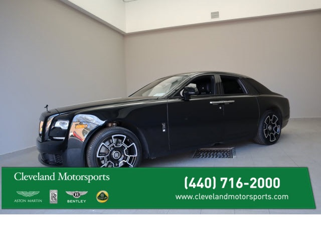 Certified Pre-Owned 2018 Rolls-Royce Ghost Black Badge - One Owner