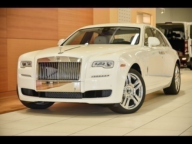 New 2017 Rolls-Royce Ghost  With Navigation