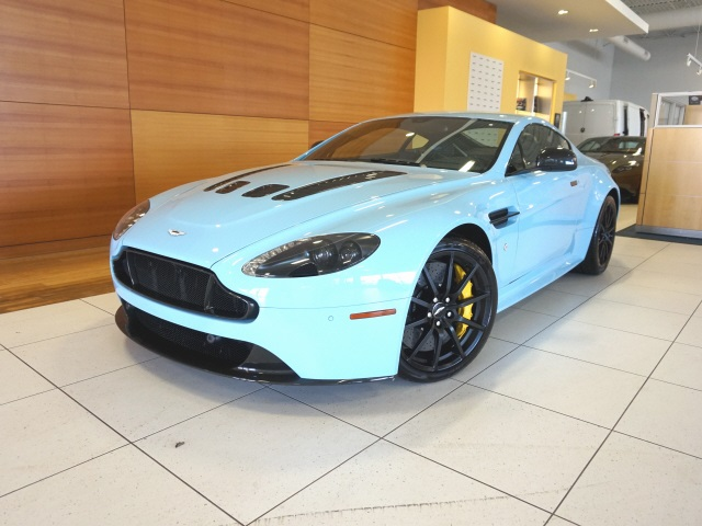 New 2017 Aston Martin V12 Vantage S With Navigation