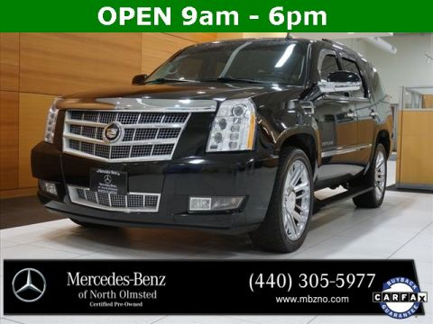 Pre-Owned 2011 Cadillac Escalade Platinum Edition