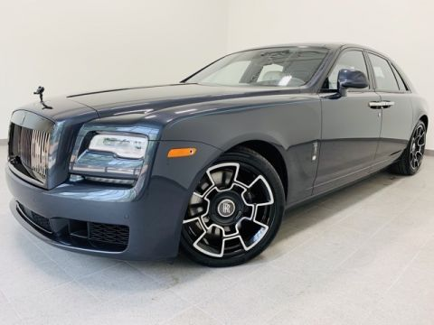 New 2019 Rolls-Royce Ghost Black Badge