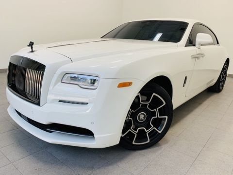 Certified Pre-Owned 2017 Rolls-Royce Wraith Black Badge