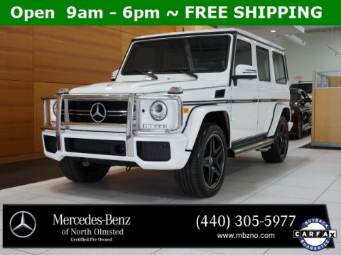 Certified Pre-Owned 2016 Mercedes-Benz G-Class G 63 AMG®