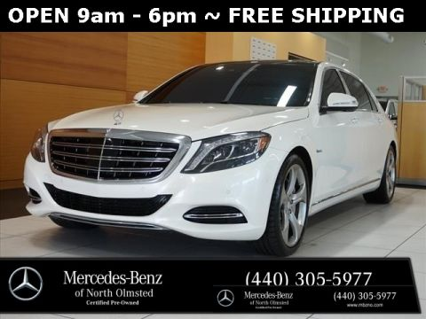 Certified Pre-Owned 2017 Mercedes-Benz S-Class Maybach S550