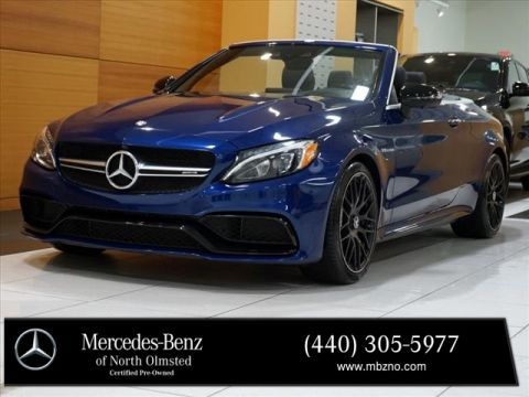 Certified Pre-Owned 2017 Mercedes-Benz C-Class C 63 AMG®