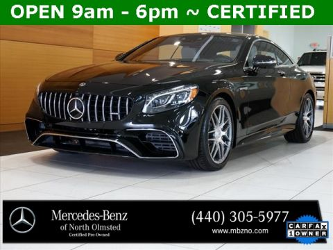 Certified Pre-Owned 2019 Mercedes-Benz S-Class S 63 AMG®