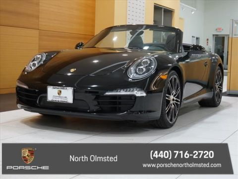 Certified Pre-Owned 2016 Porsche 911 Black Edition